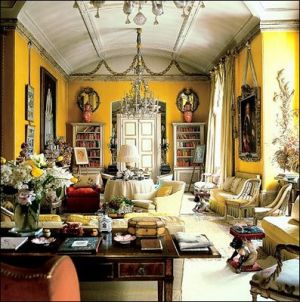 Nancy Lancaster - Yellow Room at Colefax and Fowler Brooke Street Showroom.jpg