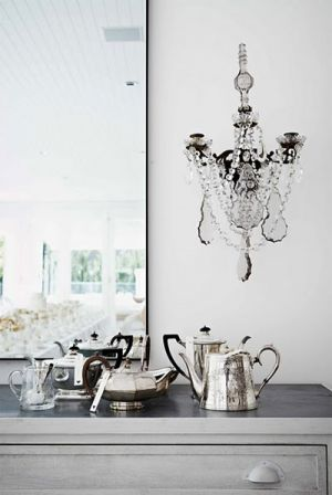 Silver Tea Pots via this is glamorous - Living lusciously.jpg