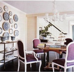 mylusciouslife.com - dining-room-with-purple-velvet-chairs.jpg
