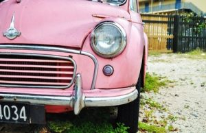 old pink car - Live lusciously with LUSCIOUS.jpg