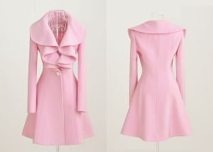 pink lotus leaf collar wool coat via the lovely Lace and Tea.jpg