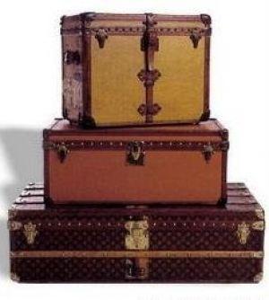 vintage luggage. vintage luggage - mylusciouslife.com louis vuitton suitcases.jpg a