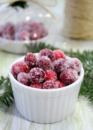 Luscious Christmas feast - mylusciouslife.com - Christmas-Candied-Cranberries.jpg