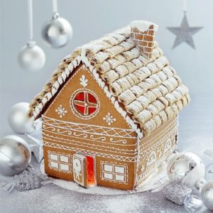 Luscious Christmas desserts cakes and sweet treats - mylusciouslife.com - gingerbread house10.jpg