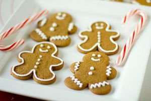 Luscious Christmas desserts cakes and sweet treats - mylusciouslife.com - gingerbread-men-cookies.jpg