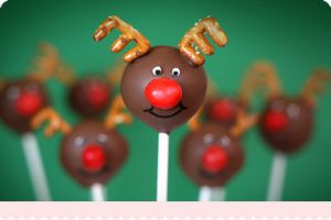 Luscious Christmas desserts cakes and sweet treats - mylusciouslife.com - reindeer cakepops.jpg