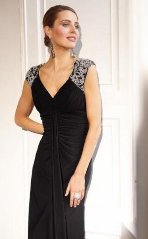 Bernshaw-Long-Embellished-Shoulder-Dress-Festive frockage ideas - mylusciouslife.com.jpg