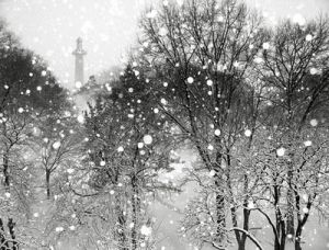 Christmas in Paris- mylusciouslife.com - black and white snow.jpg