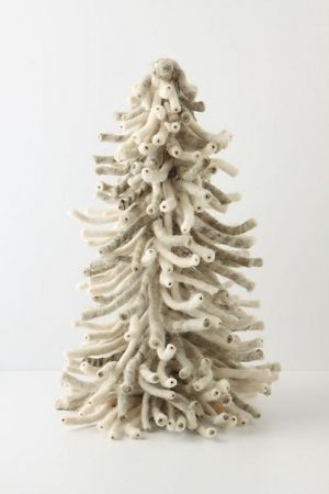 Christmas trees - mylusciouslife.com - modern white christmas tree mini.jpg