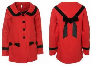 Festive frockage ideas - mylusciouslife.com - Red coat_Topshop.JPG