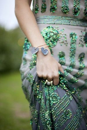 Festive frockage ideas - mylusciouslife.com - green bling evening dress.jpg