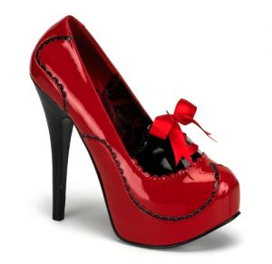 Red TEEZE Tone Pump w Concealed Platform by Bordello Shoes.jpg