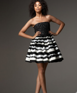 black and white party dress by Alice & Olivia.png
