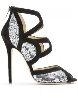 festive frockage ideas - mylusciouslife - black and silver sequin heels.jpg