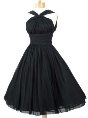 festive frockage ideas - mylusciouslife - black vintage halter dress.jpg
