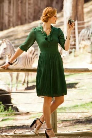 festive frockage ideas - mylusciouslife - green day dress.jpg