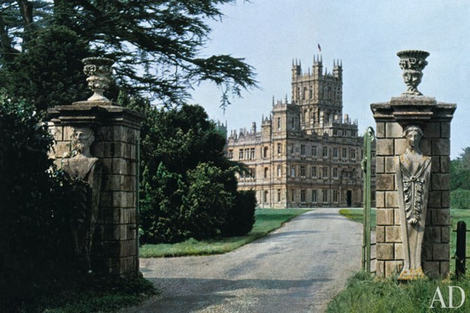 Historical style downton abbey interiors - Downton abbey chateau ...