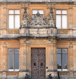 Downton Abbey and Highclere Castle interiors - front-door.jpg
