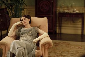 Downton Abbey and Highclere Castle interiors - lady mary.jpg