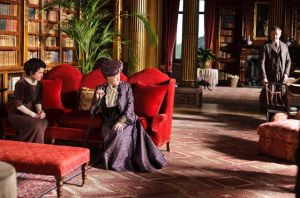 Downton Abbey and Highclere Castle interiors - library.jpg