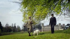 Downton Abbey and Highclere Castle interiors - walking-the-estate.jpg