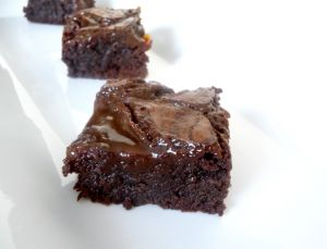 Salted caramel brownies from the Browneyed Baker