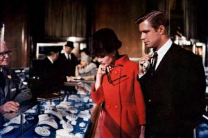 Best fashion films - Breakfast at Tiffanys - Audrey red coat and hat.jpg