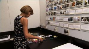 Top 10 fashion films - The September Issue 2009 - Anna Wintour looking at photos.jpg