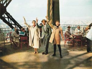 Top ten fashion films - Funny Face 1957 - Audrey Hepburn Eiffel Tower.jpg