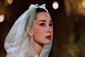 Top ten fashion films - Funny Face 1957 - Audrey crying.jpg