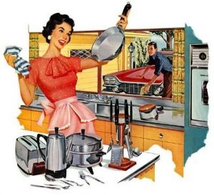 ... Kitchens   MyLusciousLife.com   Vintage Kitchen Poster1 ...
