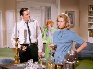 TV show fashion history - Bewitched - blue dress.jpg