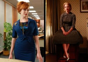 TV show fashion history - Mad Men - Joan and Betty.jpg
