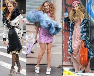 TV show fashion history - Sex and the City - Carrie fashion.JPG