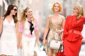 TV show fashion history - Sex and the City cast.jpg