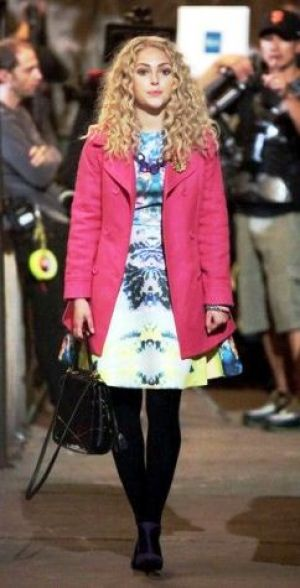 TV show fashion history - The Carrie Diaries - pink coat.jpg