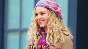 TV show fashion history - The Carrie Diaries with hat.jpg