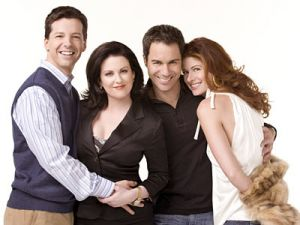 TV show fashion history - Will and Grace cast.jpg