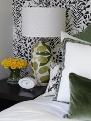 Decorating with the colour green - myLusciousLife.com - Sarahs House - Guest room - Season.jpg