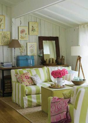 Decorating with the colour green - myLusciousLife.com - Sitting room.jpg