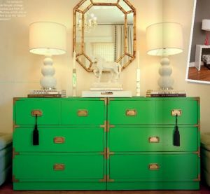 Decorating with the colour green - myLusciousLife.com - Vanessa De Vargas campaign dresser.jpg