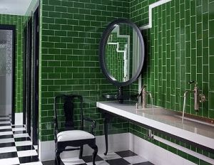 Decorating with the colour green - myLusciousLife.com - emerald green subway tiles.jpg