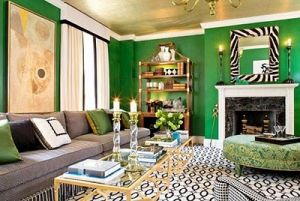Decorating with the colour green - myLusciousLife.com - emerald green walls.jpg