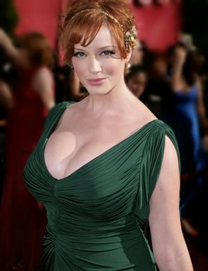 Emerald green clothes shoes accessories - myLusciousLife.com - Christina Hendricks.jpg