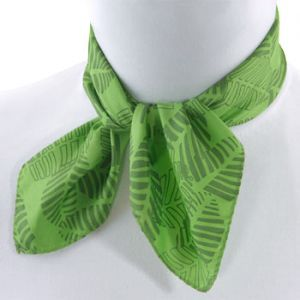 Green accessories - myLusciousLife.com - green scarf_detail.jpg