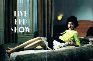 Green clothes shoes accessories - myLusciousLife.com - Arizona Muse Love SS2011 Willy Vanderperre.jpg