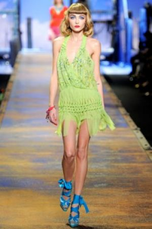 Green clothes shoes accessories - myLusciousLife.com - Christian Dior Spring 2011 Ready-to-Wear.jpg