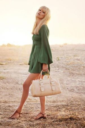 Green clothes shoes accessories - myLusciousLife.com - Kate Moss for Longchamp.jpg