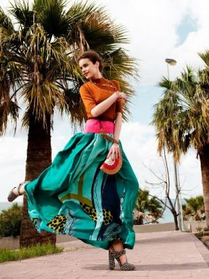 Green clothes shoes accessories - myLusciousLife.com - Sandra by Tamer Yilmaz for Elle Turkey.jpg