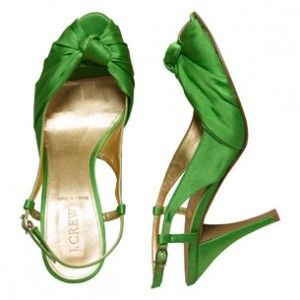 Green clothes shoes accessories - myLusciousLife.com - green-shoes.jpg